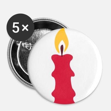 Candle candle - Buttons small 25 mm