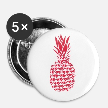 Stylish PINEAPPLE STYLISH - Buttons klein 25 mm (5-pack)