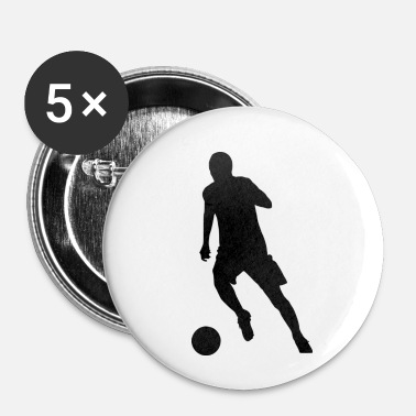 Strike Striker au dribble - Badge petit 25 mm