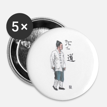 Tai Chi Tao way - Buttons small 25 mm