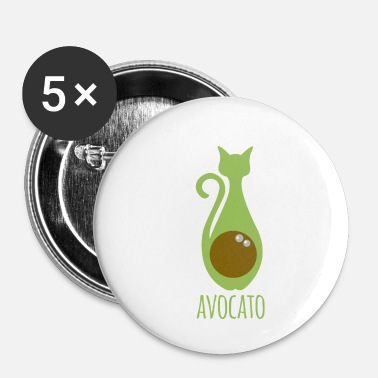 Avocat Avocat - Chat - Avocat - Avocat - Badge petit 25 mm