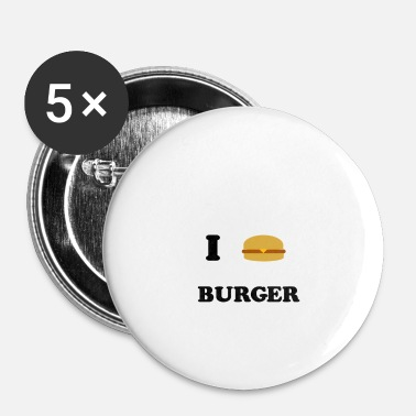 Burger Burger - Buttons small 25 mm
