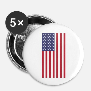 Us US Flag - Badge petit 25 mm