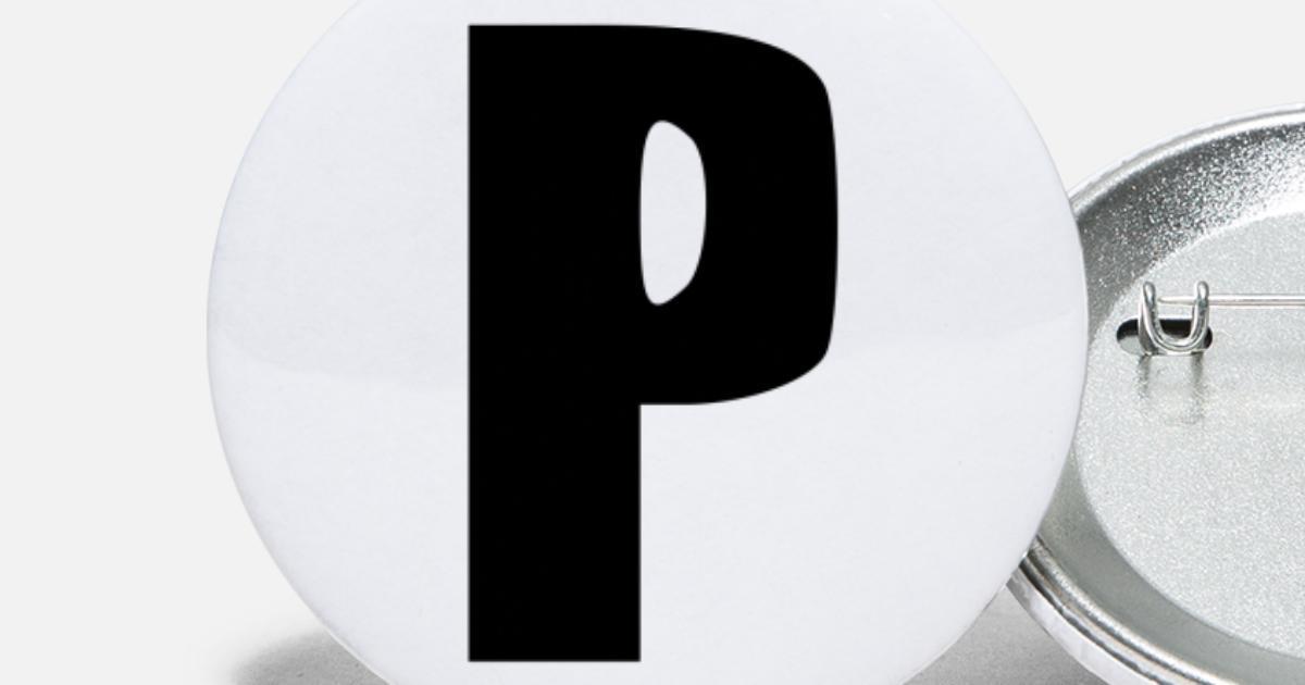 P lettera iniziale alfabeto regalo bambino nascita Spille piccole ... 68c6f29ab534