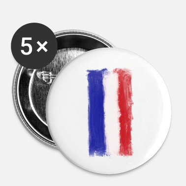 Drapeau Français Drapeau national français - Badge petit 25 mm