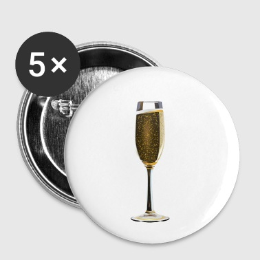 champagne - Buttons klein 25 mm