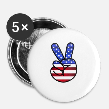 Us US Peace - Buttons/Badges lille, 25 mm