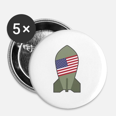 Atomic Bomb atomic bomb - Buttons small 25 mm