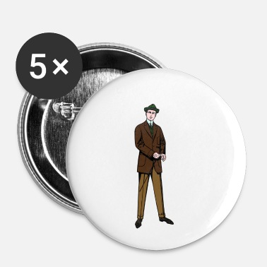 Costume costume - Badge petit 25 mm