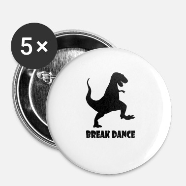 Breakdance breakdance Blak - Rintamerkit pienet 25 mm