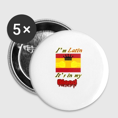 Latin Combattant latin - Badge petit 25 mm