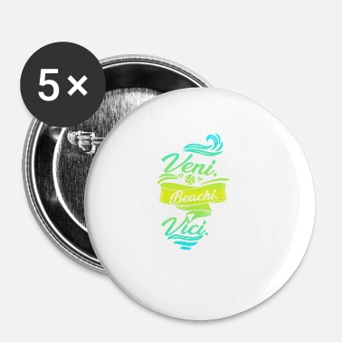 Beachvolley beachvolley - Buttons/Badges lille, 25 mm