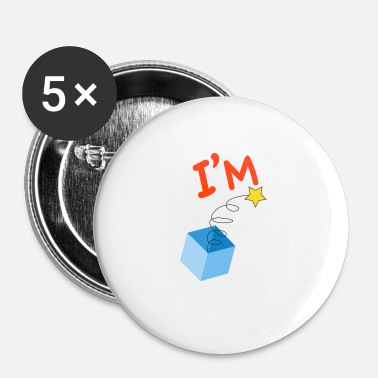 Surprise Je suis une surprise - Badge petit 25 mm