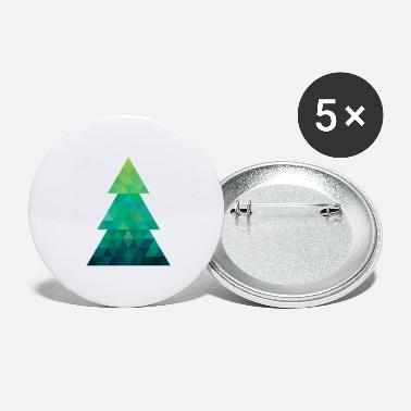 Modern style Christmas tree XMAS - Small Buttons