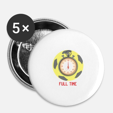 Kicker Fulltime voetbal 24/7 Love Love Sports - Buttons klein 25 mm (5-pack)