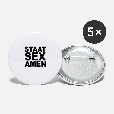 Stat State Exam State Sex Amen - Små buttons