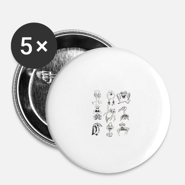 Collections Collection - Buttons small 1''/25 mm (5-pack)