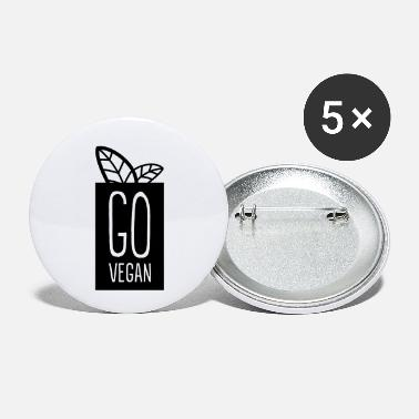 Go-vegan Go Vegan - Small Buttons