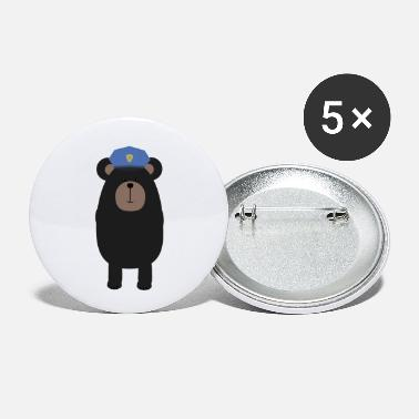 Cop Grizzly COP - Buttons klein