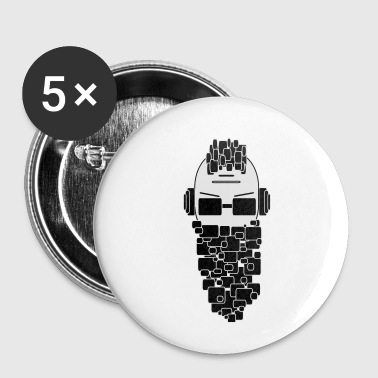 Dj DJ - Badge petit 25 mm