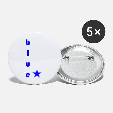 Blues Blue blue - Small Buttons