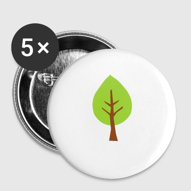 Arbre arbre - Badge petit 25 mm