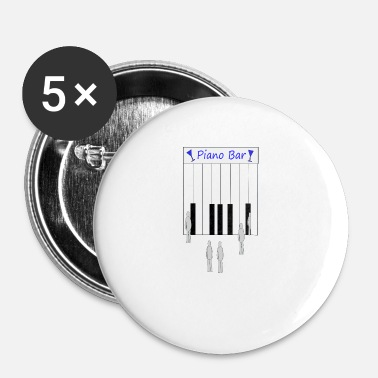 Piano PIANO - Badge petit 25 mm