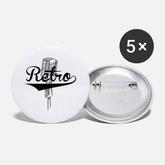 Studio Buttons - Retro - Buttons klein wit