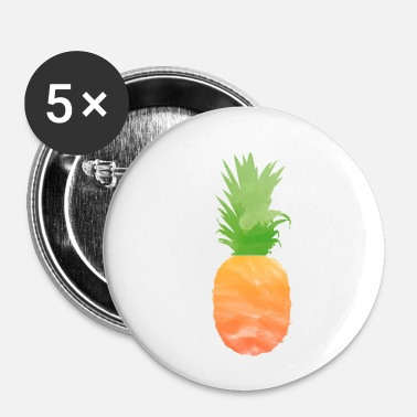Ananas ananas ananas - Buttons/Badges lille, 25 mm
