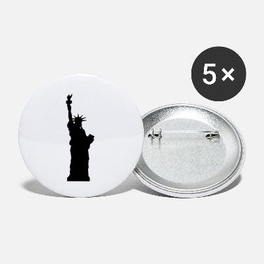 M5400557 statue of liberty - Small Buttons
