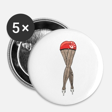 Pinup pinup - Buttons/Badges lille, 25 mm