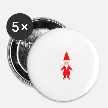 Candle Santa - Buttons small 25 mm