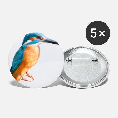 Kingfisher mosaic - Small Buttons