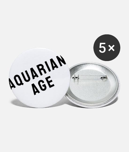 Plain Buttons - AQUARIAN AGE - Small Buttons white