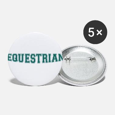 Writing Equestrian Writing - Buttons klein