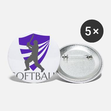 Softball Softball - Små buttons