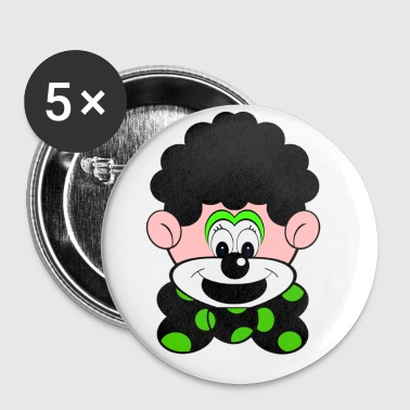 Clown - Badge petit 25 mm