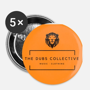 Collections The Dubs Collective - Buttons small 1''/25 mm (5-pack)