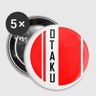 Otaku OTAKU - Badge petit 25 mm