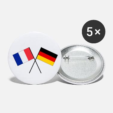 Eu Franco-German friendship EU Europe flag - Small Buttons