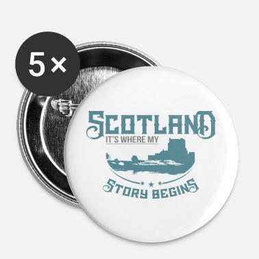 Scotland Scotland - Buttons small 25 mm