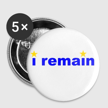 i remain - Buttons small 25 mm
