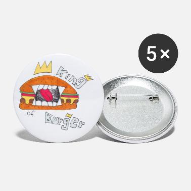 King Jersey-Beanie King of Burger - Buttons klein