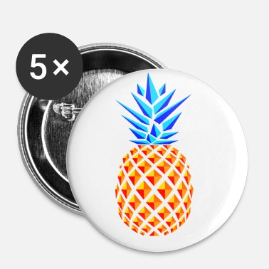 Trend PINEAPPLE TREND - Buttons/Badges lille, 25 mm