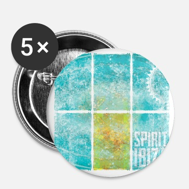 Spirit Spirit of Ibiza - Buttons klein 25 mm (5-pack)