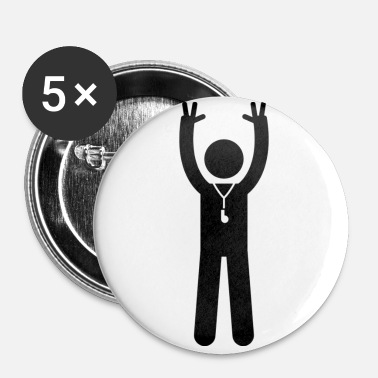 Arbitre Arbitre de Basket - Badge petit 25 mm