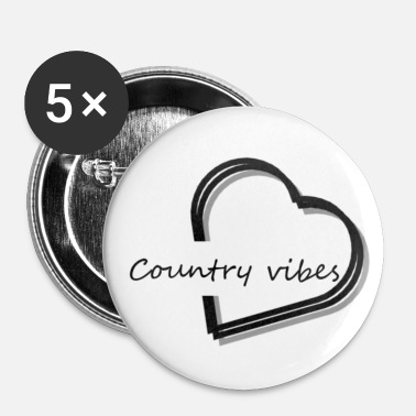 Country country vibes - Badge petit 25 mm