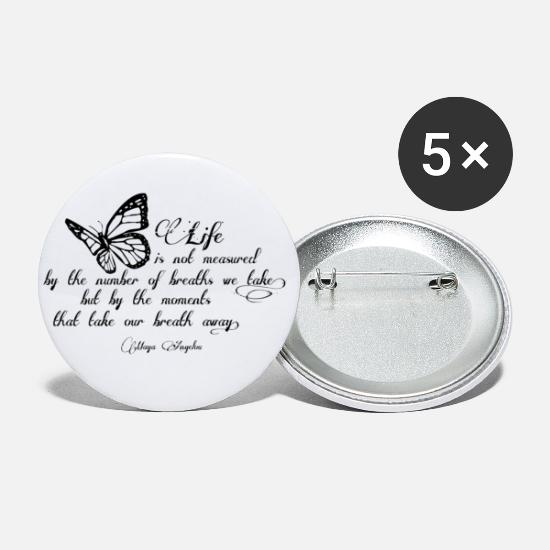 Maya Buttons - quote - Small Buttons white