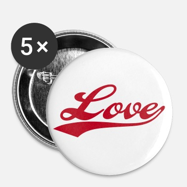 I Love LOVE - i love you - Badge petit 25 mm
