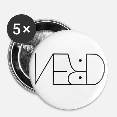 Nørd nørd - Buttons/Badges lille, 25 mm